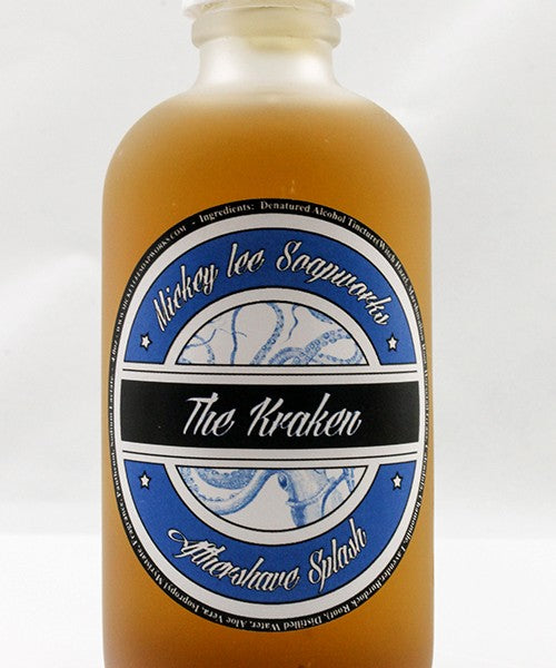 Mickey Lee Soapworks The Kraken Aftershave Splash