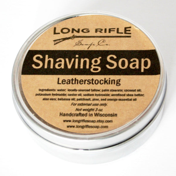 Long Rifle Leatherstocking Shave Soap