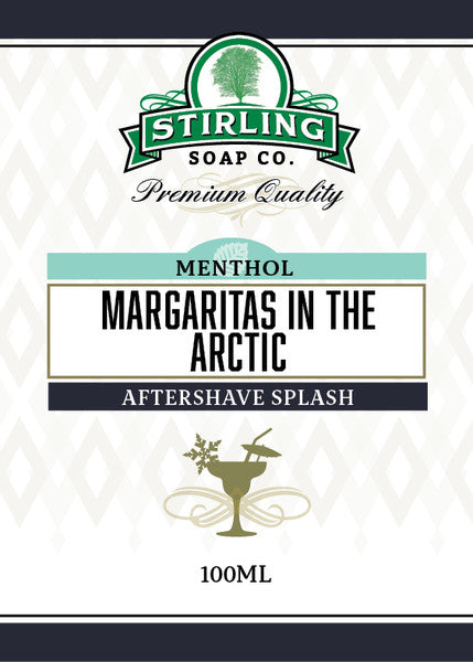Stirling Margaritas in the Arctic Aftershave Splash
