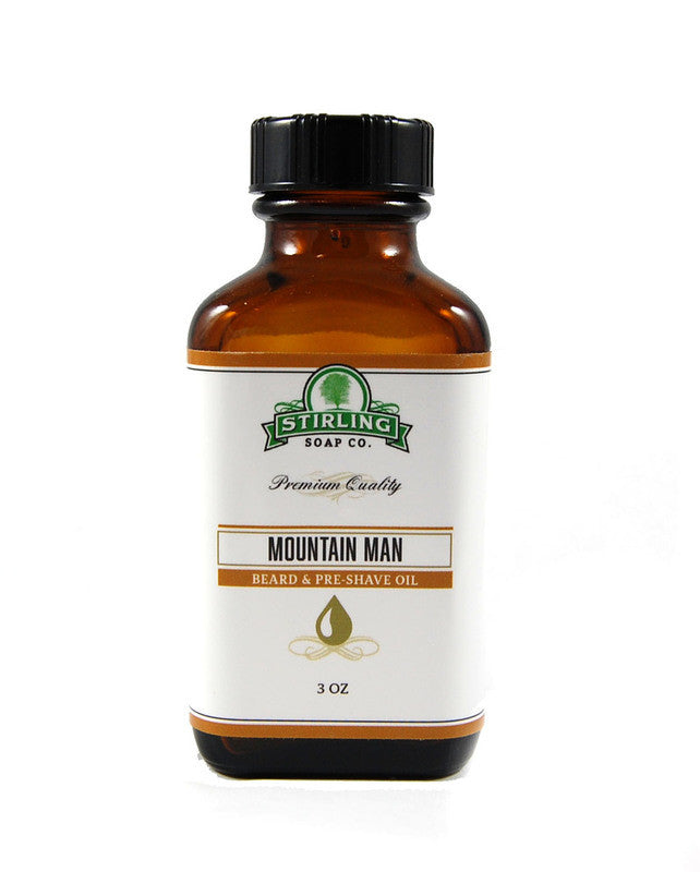 Stirling Mountain Man Beard & Pre-Shave Oil