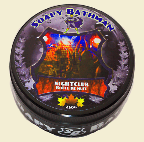 Soapy Bathman Nightclub Shave Soap