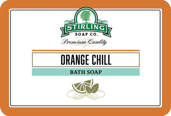 Stirling Orange Chill Bath Soap