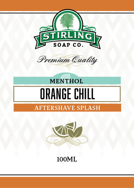 Stirling Orange Chill Aftershave Splash