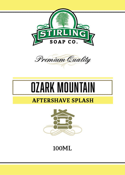 Stirling Ozark Mountain Aftershave Splash