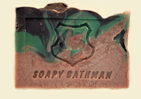 Soapy Bathman Pacific Oak Bar Soap
