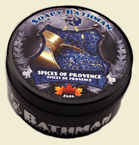 Soapy Bathman Spices of Provence Shave Soap
