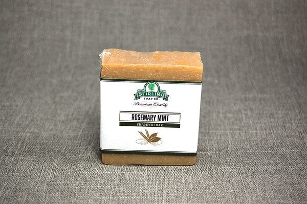 Stirling Rosemary Mint Shampoo Bar