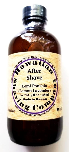 Hawaiian Shaving Company Lemi Poni'ala Aftershave