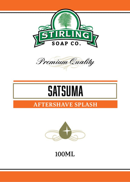 Stirling Soap Co. Satsuma Aftershave Splash