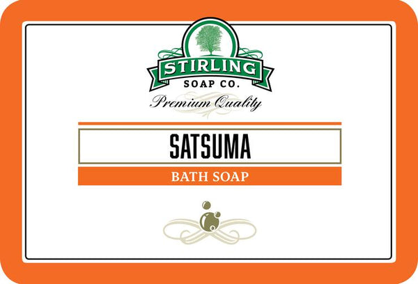 Stirling Soap Co. Satsuma Bath Soap