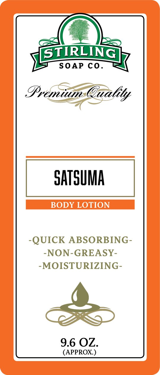 Stirling Soap Co. Satsuma Body Lotion