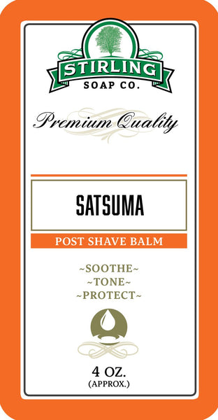 Stirling Soap Co. Satsuma Aftershave Balm