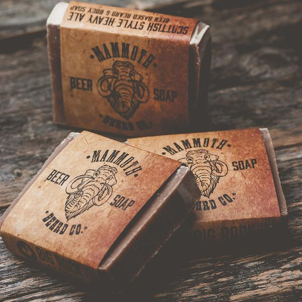 Mammoth Beard Co. Scottish Ale Beard Soap