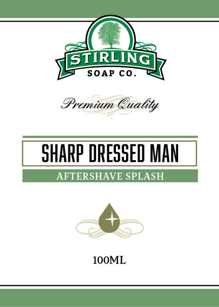 Stirling Sharp Dressed Man Aftershave Splash