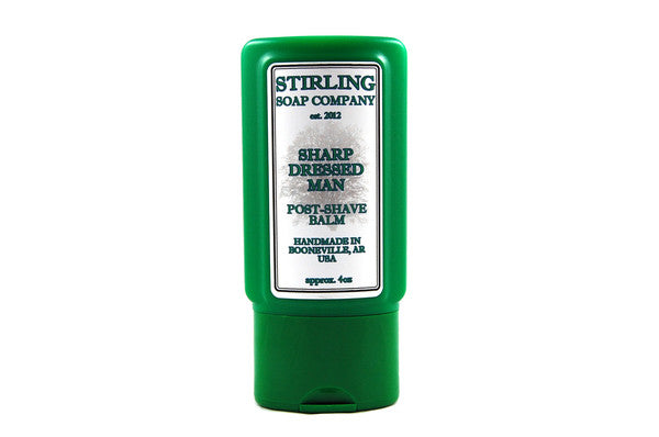 Stirling Sharp Dressed Man Aftershave Balm