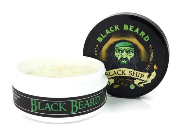 Black Ship Grooming Co. Black Beard Shaving Soap