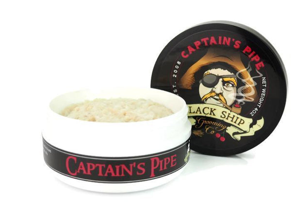 Black Ship Grooming Co. Captain's Pipe Shaving Soap