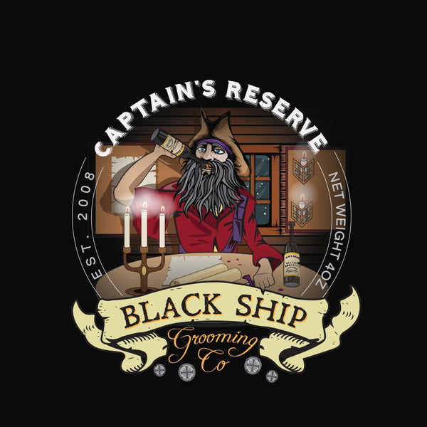 Black Ship Grooming Co. Captain's Reserve Shaving Soap