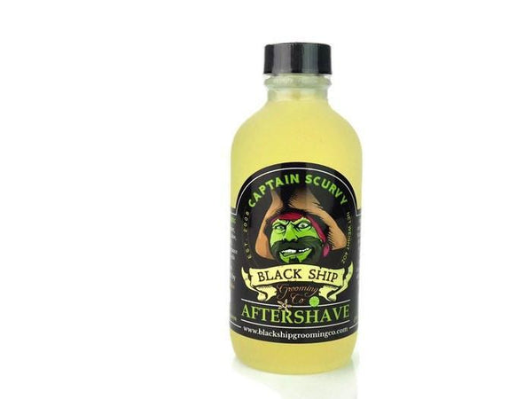 Black Ship Grooming Co. Captain Scurvy Aftershave Splash