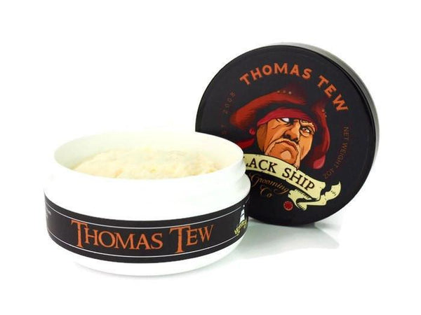 Black Ship Grooming Co. Thomas Tew Shave Soap