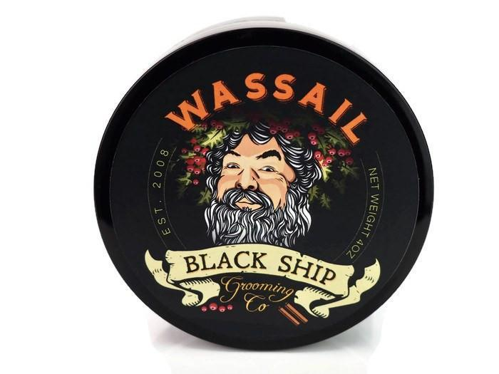 Black Ship Grooming Co. Wassail Shaving Soap