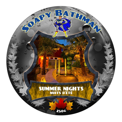 Soapy Bathman Summer Nights Shave Soap
