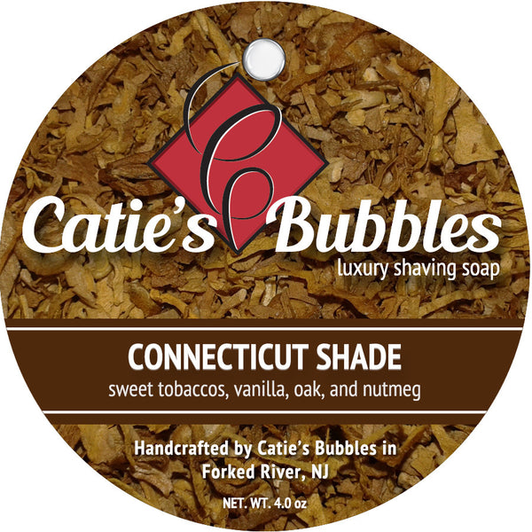 Catie's Bubbles Connecticut Shade Luxury Shaving Soap