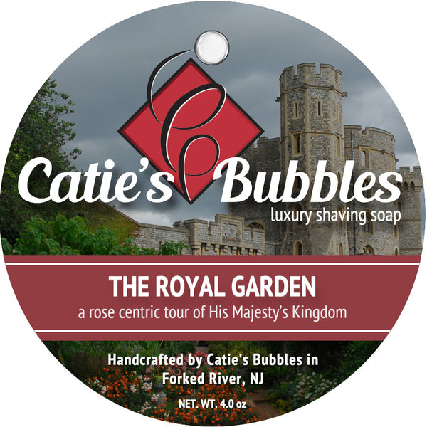 Catie's Bubbles Royal Garden Luxury Shaving Soap