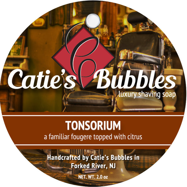 Catie's Bubbles Tonsorium Luxury Shaving Soap