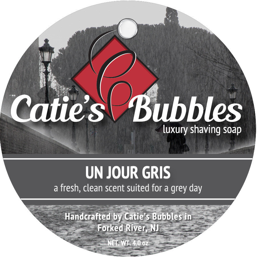 Catie's Bubbles Un Jour Gris Luxury Shaving Soap