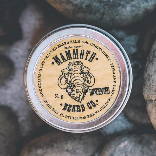 Mammoth Beard Co. Unscented Beard Balm