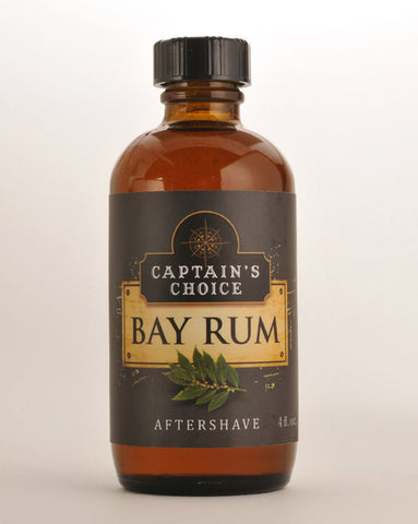 Captain's Choice Bay Rum Aftershave Splash