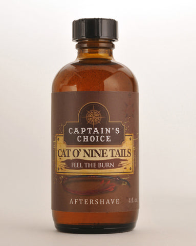 Captain's Choice Cat O'Nine Tails Aftershave Splash