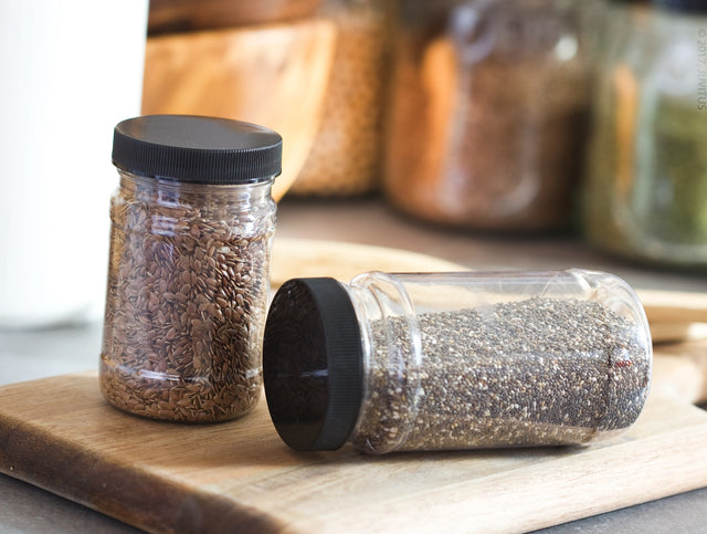 Food Storage Containers with Spices