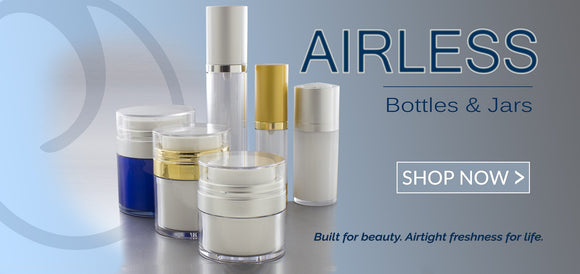 Airless Collection of Bottles and Jars