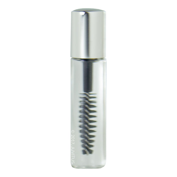 3.5 ml / 0.12 fl oz Empty Mascara Tube Bottles Travel Mini Sample Size with Black Wand Applicator and Wiper (6 pack) + Funnel