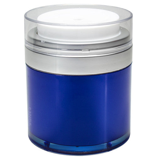 Blue Airless Jar - 1.7 oz