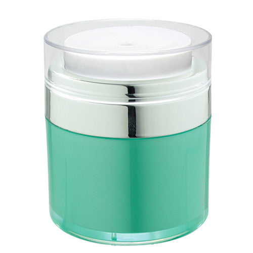 Teal Blue Airless Refillable Jar - 1.7 oz