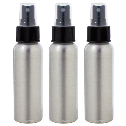 Aluminum Refillable Travel Spray Bottle - 2.7 oz