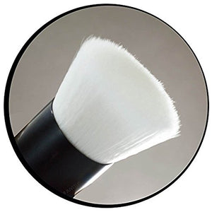 Premium Salon Quality Flat Top Kabuki Brush Made With Dense Taklon Fibers for Blending Cream, Liquid & Mineral Foundations or Finishing Powders
