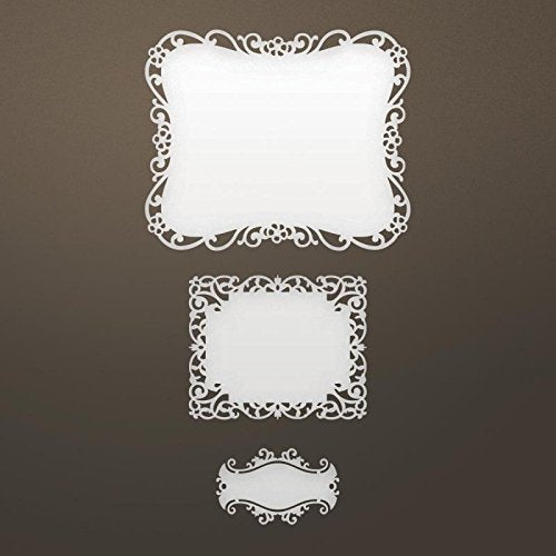 Artdeco Creations Ultimate Crafts Ooh La La Die-Nested Labels; 3