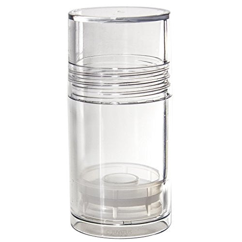 Clear Acrylic (BPA Free) Push Up Tube Bottles - 1 oz