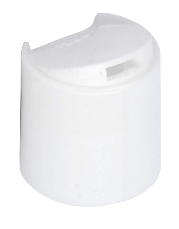 20-410 White Disc Cap Top Closure (12 PACK)