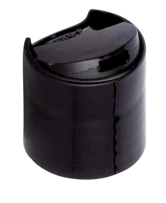 24-410 Black Disc Cap Top Closure (12 PACK)