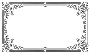 40 Decorative Rectangle Write-On Labels for Bottles & Jars, 2.5 x 1.5 Inches, White Matte Finish (Bristol)