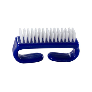 Nail Brush with Durable Plastic Handle (Blue)