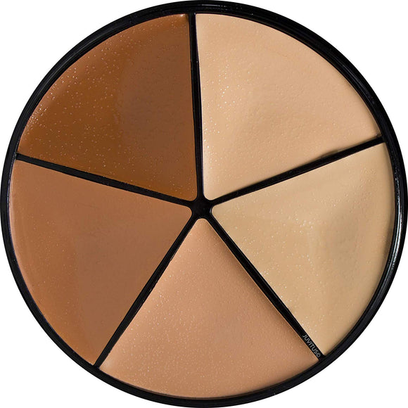JUVITUS Creamy Concealer Cover Wheel - Neutral Tones (5 Shades)