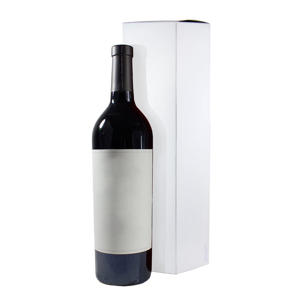 Wine and Liquor White Gift Box - 6 pack - 13.5  tall for standard size  sc 1 st  Boxes - JUVITUS & Boxes - JUVITUS Aboutintivar.Com