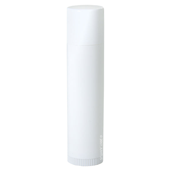 White Empty DIY Lip Balm Container Tubes (20 pack) + Funnel
