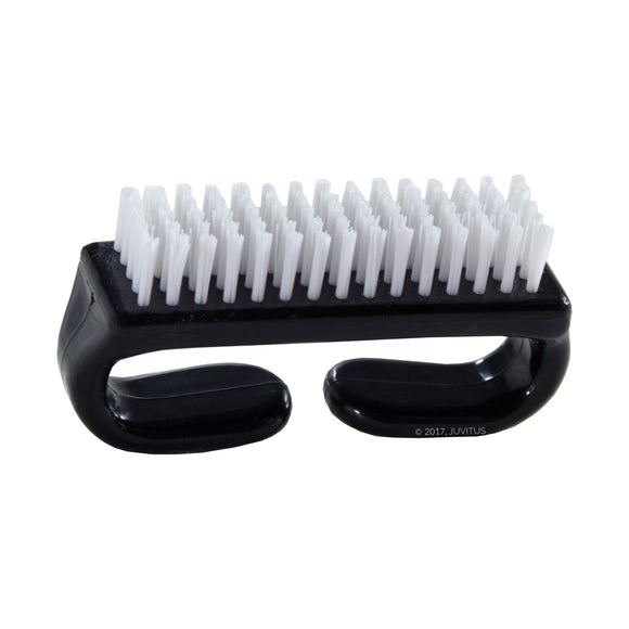 Nail Brush with Durable Plastic Handle available in a variety of colors